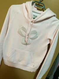 Tna Pink pull over hoodie