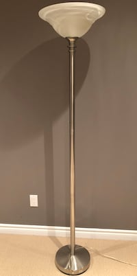 Tall Torchiere Floor Lamp with Dimmer