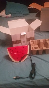 watermelon slice electronic device with box NEWPORT