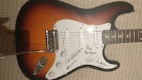 Autographed guitar from the band Triumph. Fender Squire.   Markham, L3R 1N3