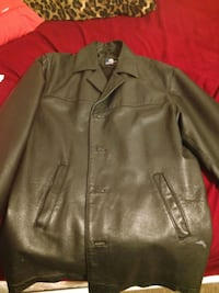 Large Burnside Leather Jacket