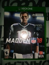 Madden NFL 18 Xbox One game Bremerton, 98312