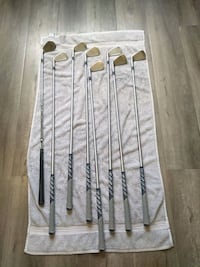Full set of 8 TaylorMade tour preferred irons