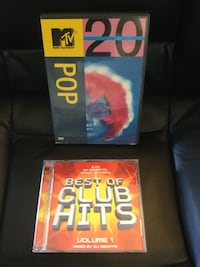 Music  Videos DVD and Dance Music Best of Club hits CD  / Welcome to visit for more items Alexandria, 22311