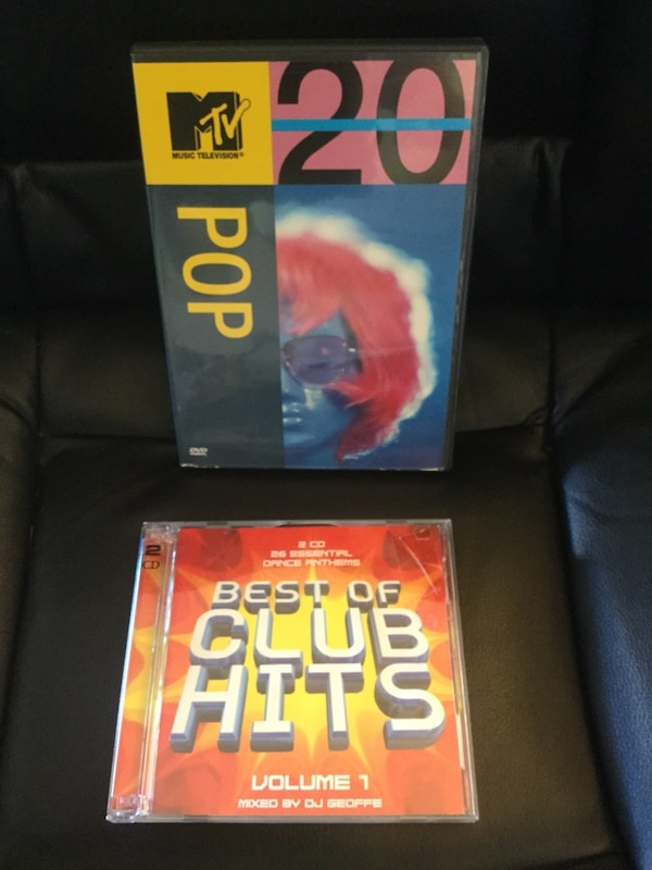 Music  Videos DVD and Dance Music Best of Club hits CD  / Welcome to visit for more items
