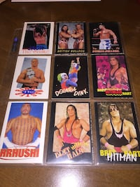WWF cards collection.