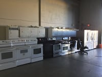 Black and Stainless Steel Gas Stove Range Richmond