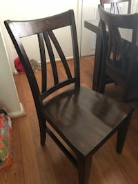Solid wood table and 6 chairs Springfield, 22152