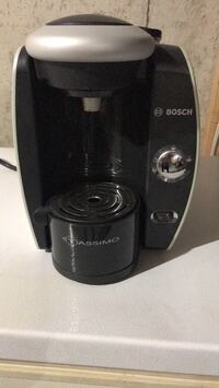 black and gray Bosch Tassimo coffeemaker Mississauga, L5N 6G7