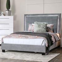 Velvet LED BED SALE Twin$299 Full/Queen $349 King$399 No Credit Needed Essex