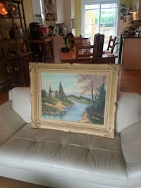 Authentic Ludwig Flancer Painting  Châteauguay, J6J