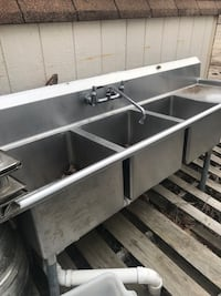 stainless steel sink with faucet Woodbridge, 22193