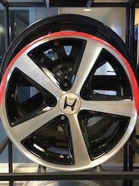 """16"""" Honda  Civic and accord  And crv  Bolt pattern 5x114  Price 380 Center Line"""