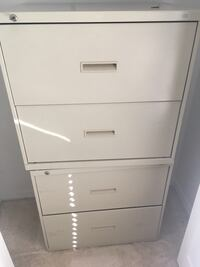 white metal 4-drawer filing cabinet Sebastian, 32958