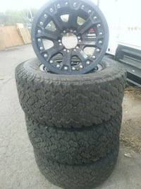 """17"""" With 33 """" Tires complete with sensor"""