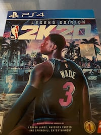 NBA 2k20 legend edition unopened for PS4