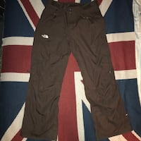 Women the north face hyvent insulated pants brown cargo ventilate Gaithersburg, 20878