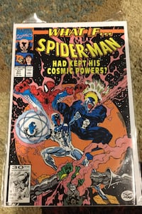 Comic spider man what if.  Topsfield, 01983