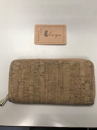 Authentic Cork Zippered Wallet from Spain