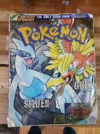 Pokemon gold and silver guid book Mississauga, L4X 1T3