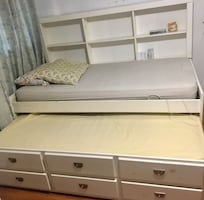 URGENT! Moving sale!!! White BED