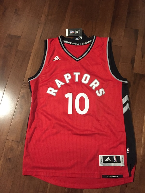 9d52ca21b3f Used BRAND NEW - Toronto Raptors DeMar DeRozan Jersey Medium for ...