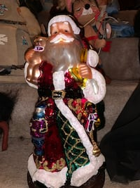 4 foot Authentic Handblown Santa Clause - Certificate Included Columbia, 21045