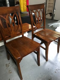 Pier 1 Import solid wood chairs   West Simsbury, 06092