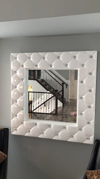 white wooden framed wall mirror Edmonton, T5Z 3T7