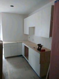 new kitchen cabnets ..ready for your home. need mo