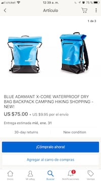 Adamant new backpack