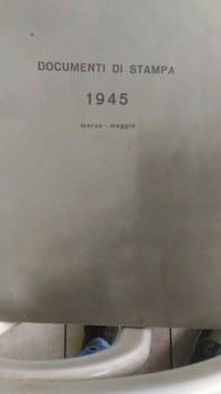 Documenti di Stampa 1945 Napoli, 80143