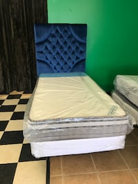 twin size orthopedic mattress double sided for sale no headboard .
