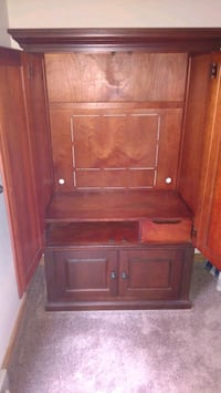 brown wooden cabinet with drawer Peabody, 01960
