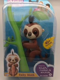 Authentic fingerling - Kingsley Sloth