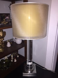 Beautiful Lucite Table Lamp