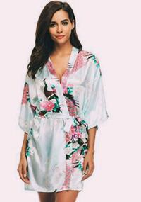women's green and pink floral dress Scarborough, M1E