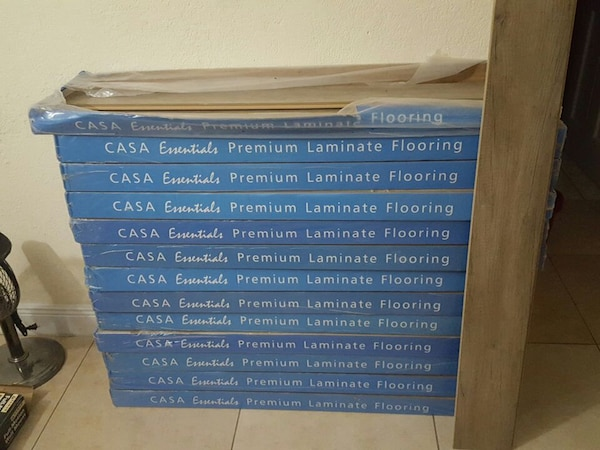 Used Casa Essentials Premium Laminate Flooring For Sale In Opa Locka