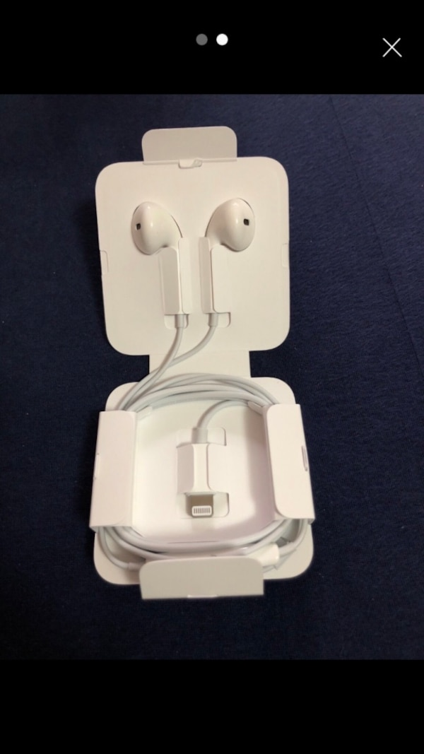 whiteApple EarPods mit Fall Screenshot