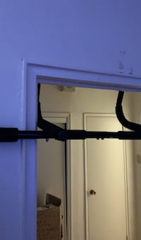 Door mount pull up bar