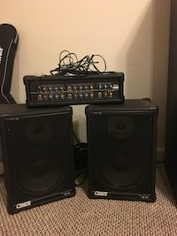 Amp with Speakers MD CITY, 20724
