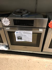 Bosch Brand new stainless steel Single Wall Oven with 1 year warranty