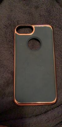 gold iPhone 6 with black case Boston, 02126