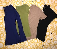 Lot of 4 ladies Medium tops Toronto, M8Y 3L7