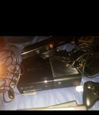 Xbox 360 500gb,Kinect 5 games all wires great cond Anaheim, 92804