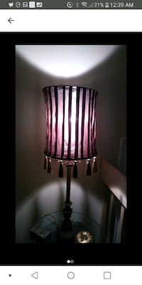 Brown lampshade Laval, H7M 4A2
