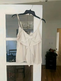 women's white sleeveless top Arlington, 22207