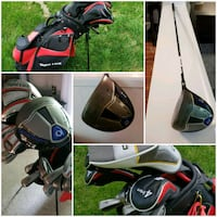black and red golf bag Reading, 19606