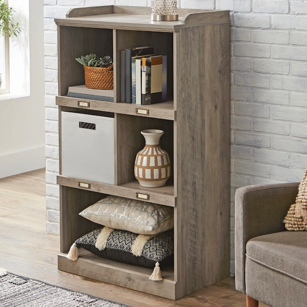 Used Better Homes And Gardens Modern Farmhouse 5 Cube Organizer With