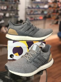 Grey leather cage ultraboost 3.0 size 9.5 Silver Spring, 20902